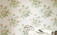 Sanderson Caverley Wallpapers Adele - Cream/Ivory
